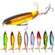 YTQHXY Whopper Fishing Lure Topwater Rotating Tail saltwater fishing lures Artificial Bait Hard Hooks Bass Fishing Tackle Ye507