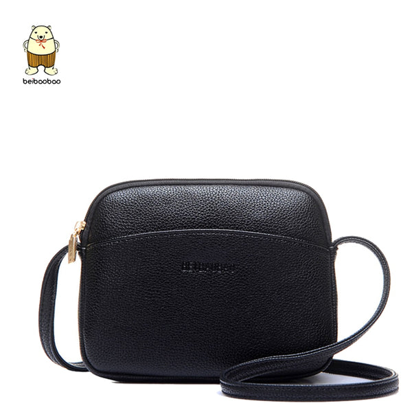 Beibaobao 2018 Hot Crossbody Bags For Women Casual Mini Candy Color Messenger Bag For Girls Flap Pu Leather Shoulder Bags