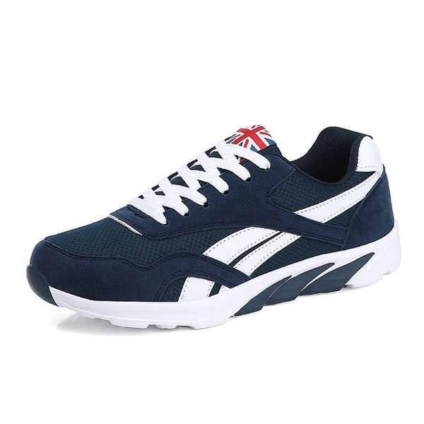 check out b87f7 7a799 Popular Spring Autumn Men Running Shoes Breathable Outdoors Sports Shoes  Zapatos Lightweight Comfortable Athletic Male Sneakers