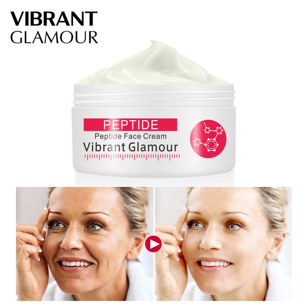 VIBRANT GLAMOUR  Face Cream Argireline Pure Collagen Cream Anti-wrinkle Firming Anti Aging Anti Acne Whitening Moisturizing Skin