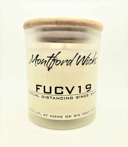 8 oz. FUCV 19 Commemorative Candle
