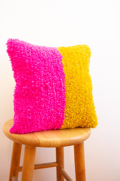 B R I G H T pillow no. 4