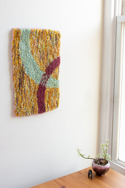 lil squiggle wall rug no. 4