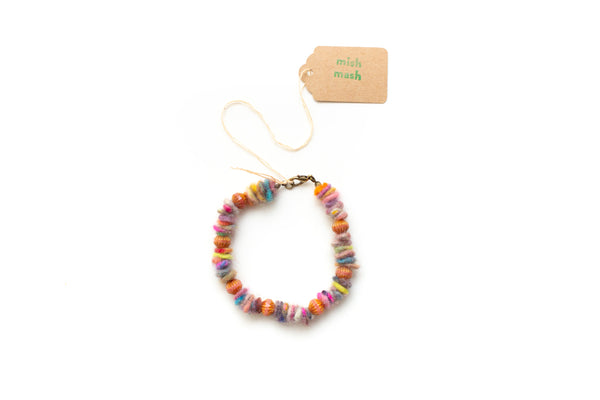 felty bead bracelet no. 1