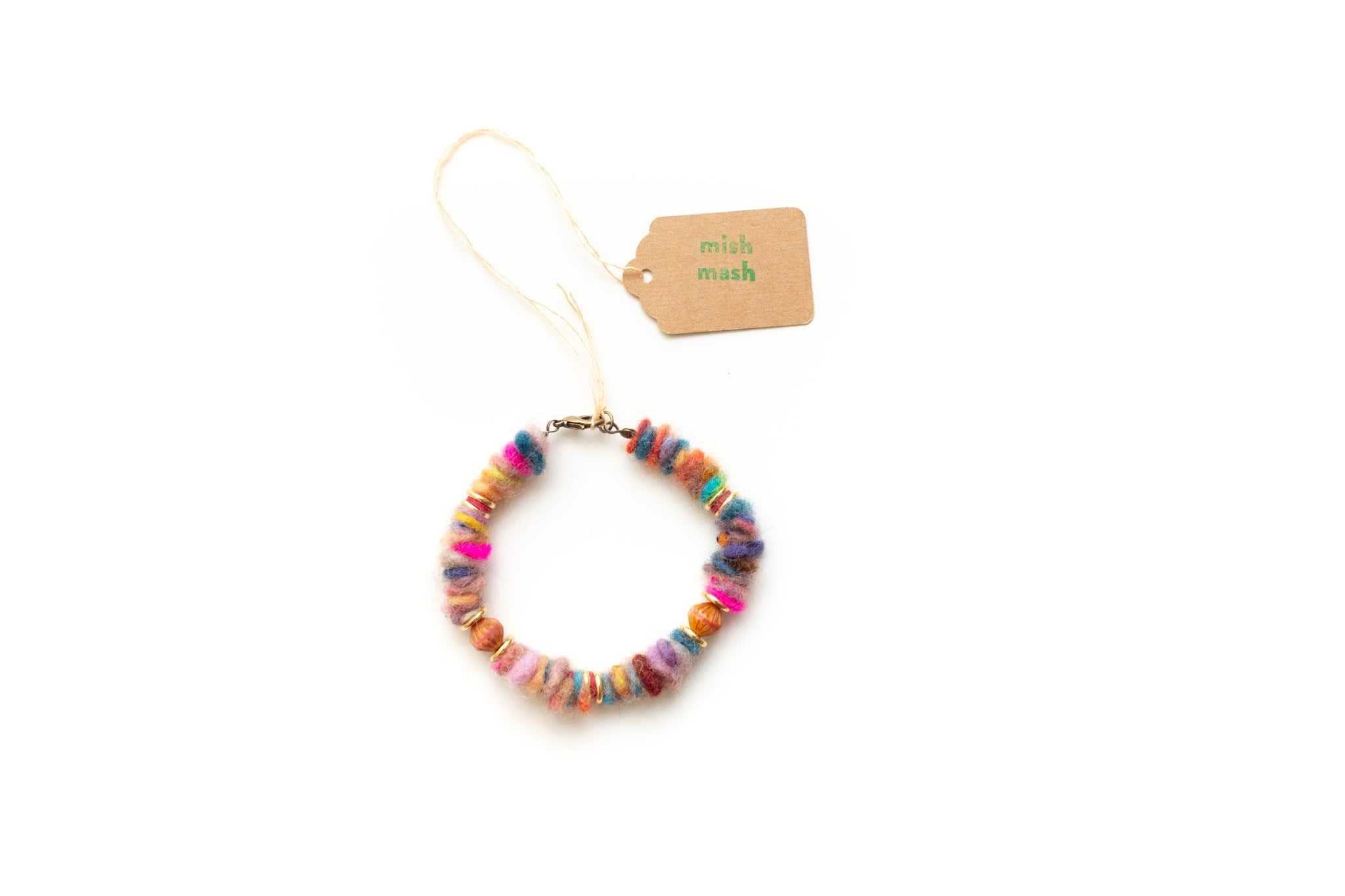 felty bead bracelet no. 6