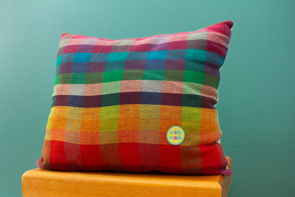 patchwork pillow no. 4