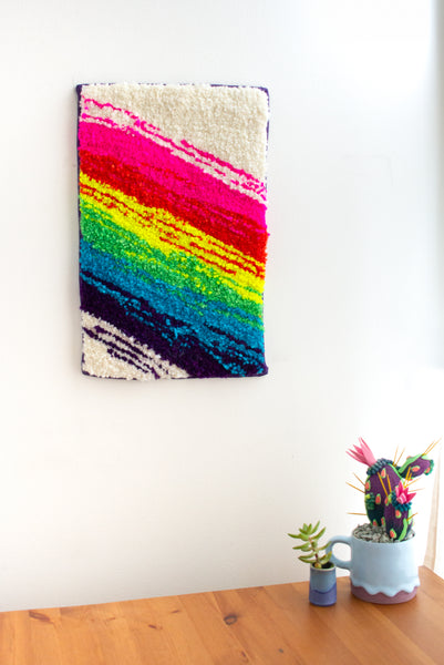 lil RAINBOW wall rug no. 3