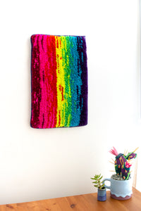 lil RAINBOW wall rug no. 4