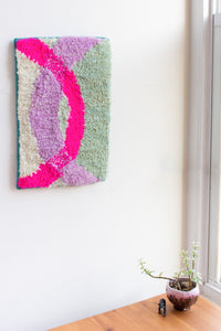 lil squiggle wall rug no. 2