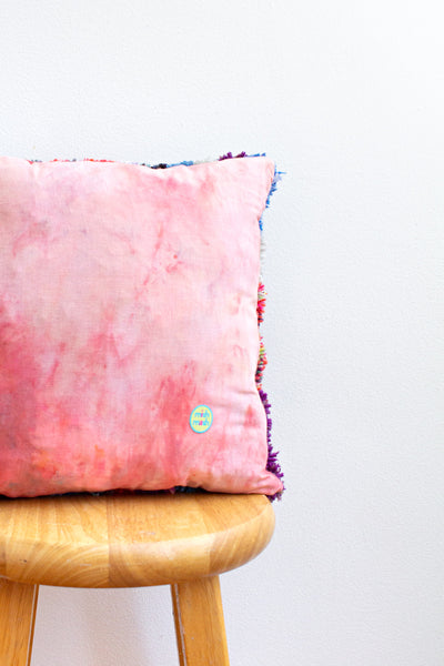 BIG scrap square pillow no. 2