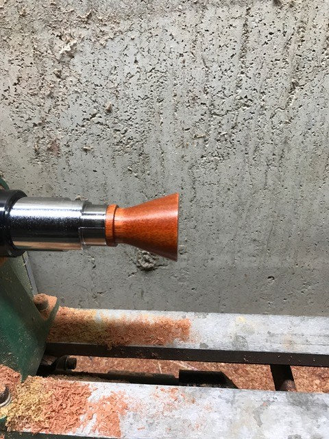 Turning A Bottle Stopper