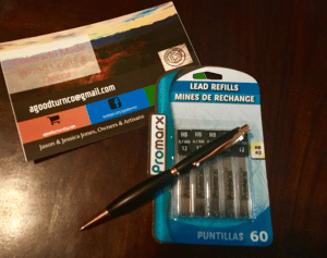 Replacing Lead in Handcrafted Mechanical Pencil