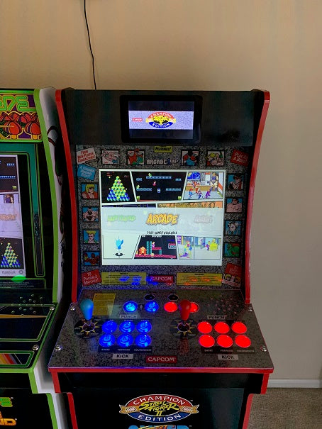 Arcade1Up Custom LCD screen marquee