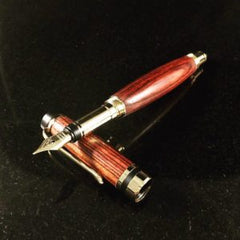 Kingwood fountain pen