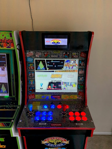 Arcade1Up after-market marquee blank for LCD screens