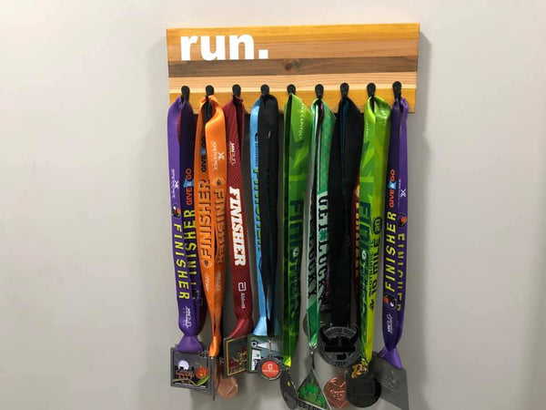 Custom Run. Medal Holder (Burris)