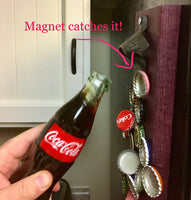 Magnetic Cast Iron Bottle Opener in 3 colors - A Good Turn Colorado