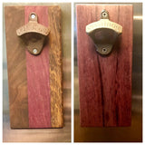 Cutting Board Style Magnetic Cast Iron Bottle Opener - A Good Turn Colorado
