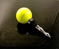 Sport Golf Ball Bottle Stoppers (Choice of 6 Sports)