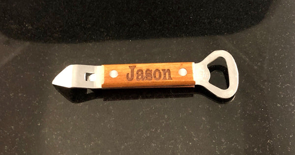 Handheld Custom Wood Bottle Opener - A Good Turn Colorado