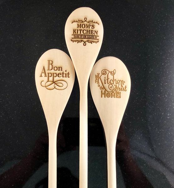 Engraved Sayings Wood Spoons - A Good Turn Colorado