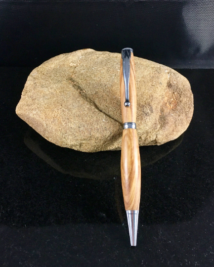 Olivewood Chrome Wood Pen