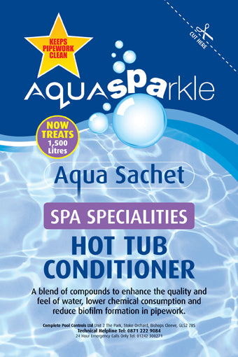 AquaSPArkle Hot Tub Conditioner Sachet 120ml