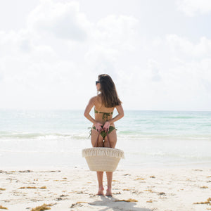 THE BOHO STRAW TOTE