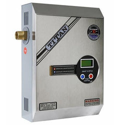 Titan N-120S tankless water heater side view