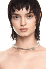 Load image into Gallery viewer, MISBHV X LILITH WHITE PEARL CHOKER