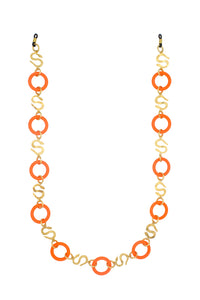 SITA GLASSES CHAIN ORANGE
