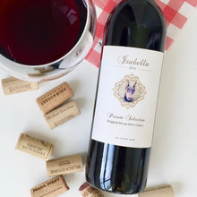 Load image into Gallery viewer, The Isabella - Wine label and story - Cork Tales