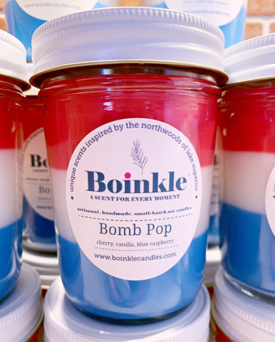 Bomb-Pop Layered Scent Candle