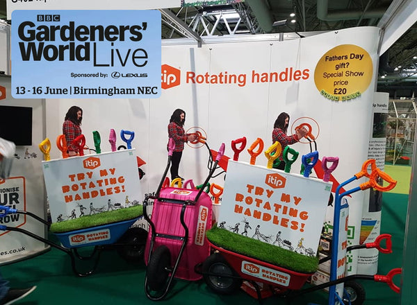 iTip Handles at the BBC Gardeners' World Show