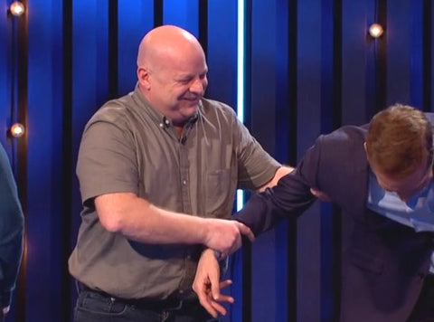 Simon of iTip Handles saves the life of Brian Conley