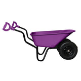 Bronco wheelbarrow DUO sideways with iTip handles