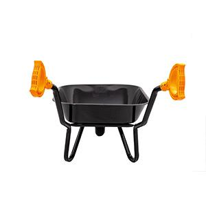 Metal wheelbarrow & coloured iTip Handles