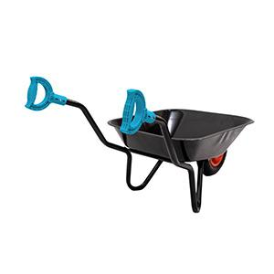 Buffalo metal wheelbarrow & coloured iTip Handles
