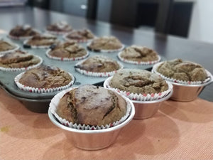 Metamofs Muffins - Banana Walnut