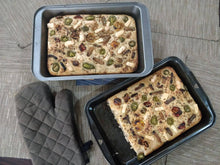Load image into Gallery viewer, Sourdough Bread - Focaccia Bread (Pre-order)