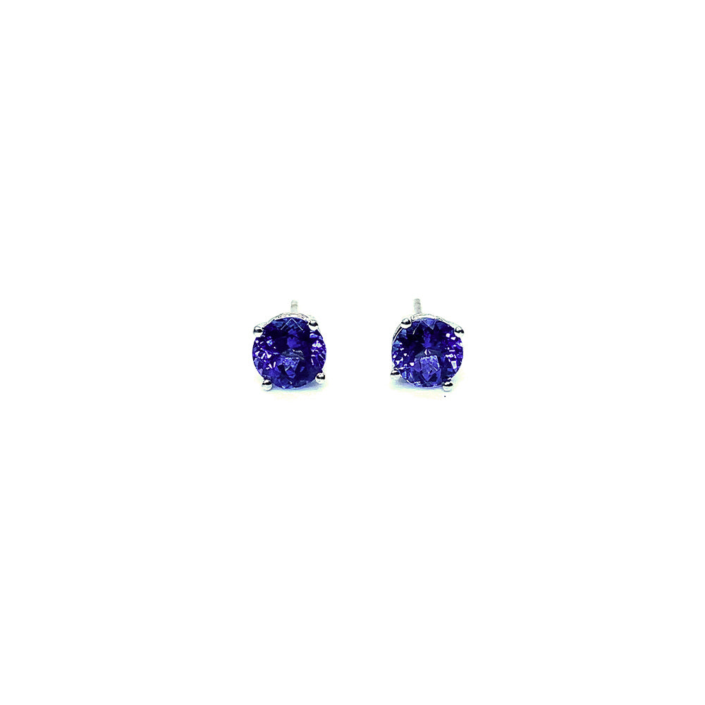 18ct White Gold 2.49tct Tanzanite Earrings