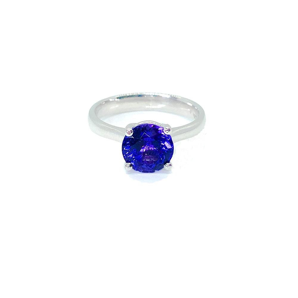18ct White Gold Tanzanite Ring