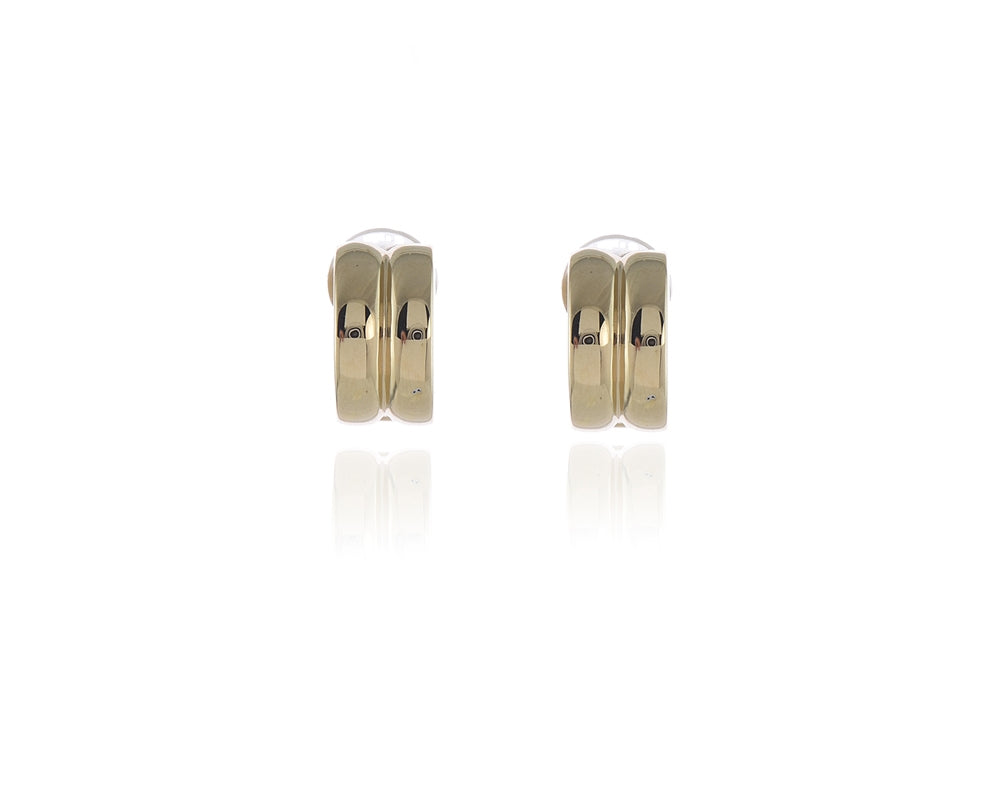 Suzy Gold Clip-on Earrings