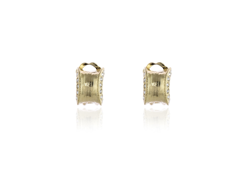 Cairtir Gold Clip-on Earrings