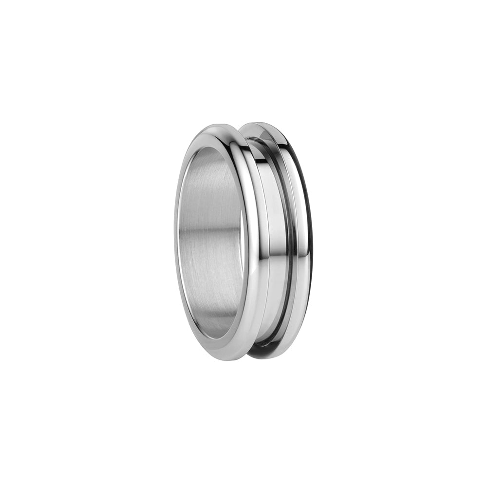 Bering Ring | Polished Silver | 526-10-X3 | Outer Ring