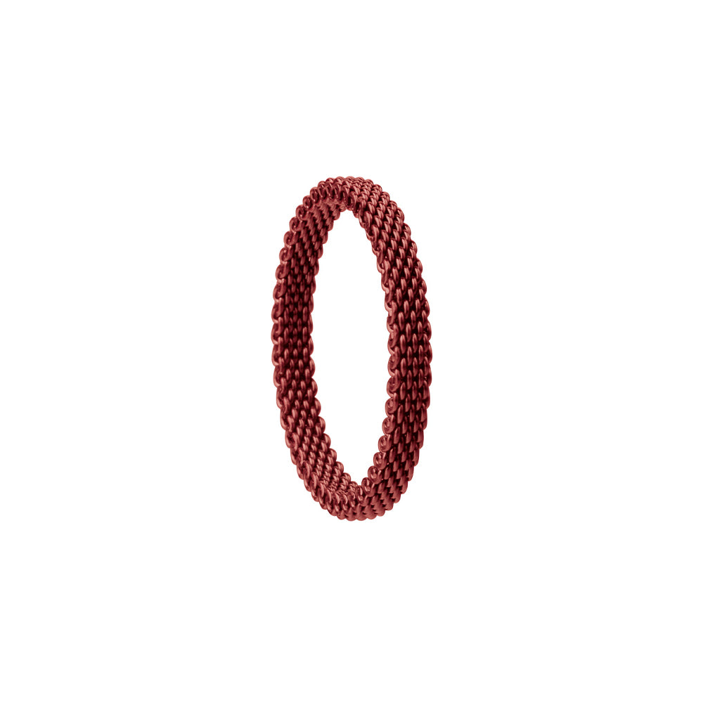 Bering Ring | Red Milanese Mesh | 551-40-X1 | Inner Ring