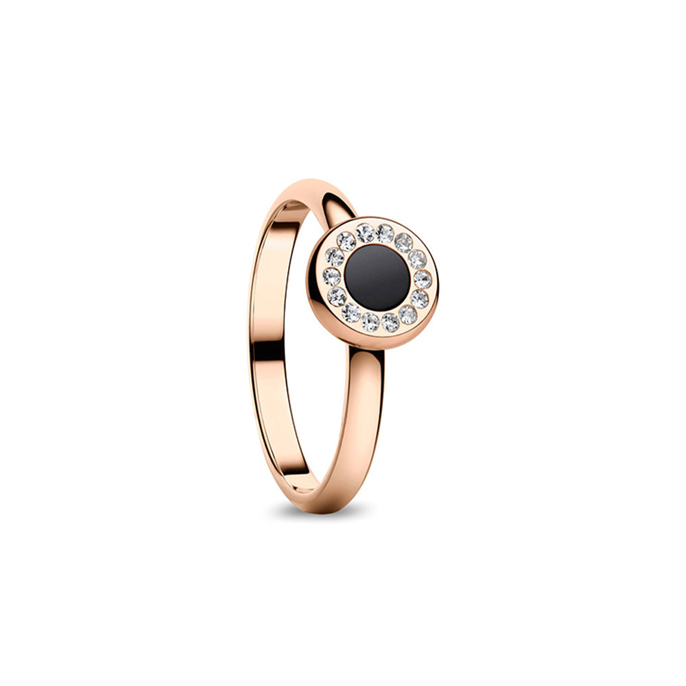 Bering Ring | Arctic Symphony | Polished rose gold Ring | 577-36-X1
