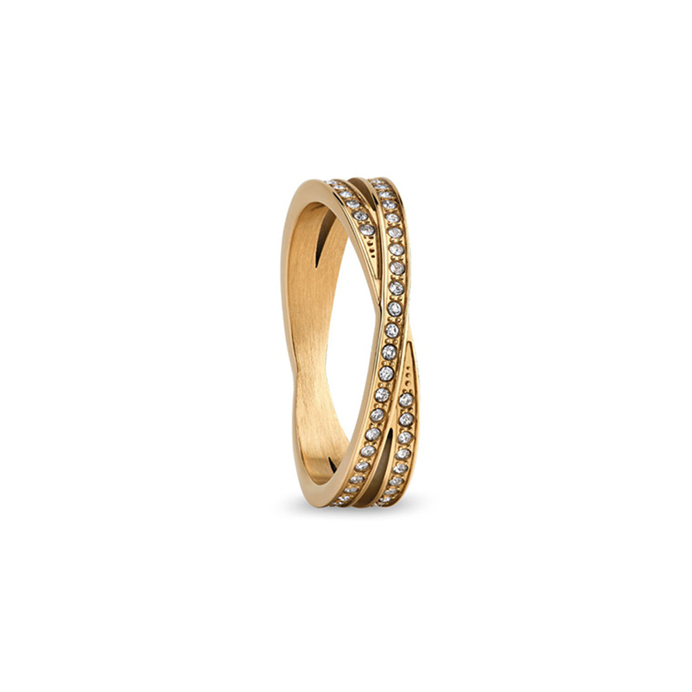 Bering Ring | Arctic Symphony | polished gold | 586-27-X2