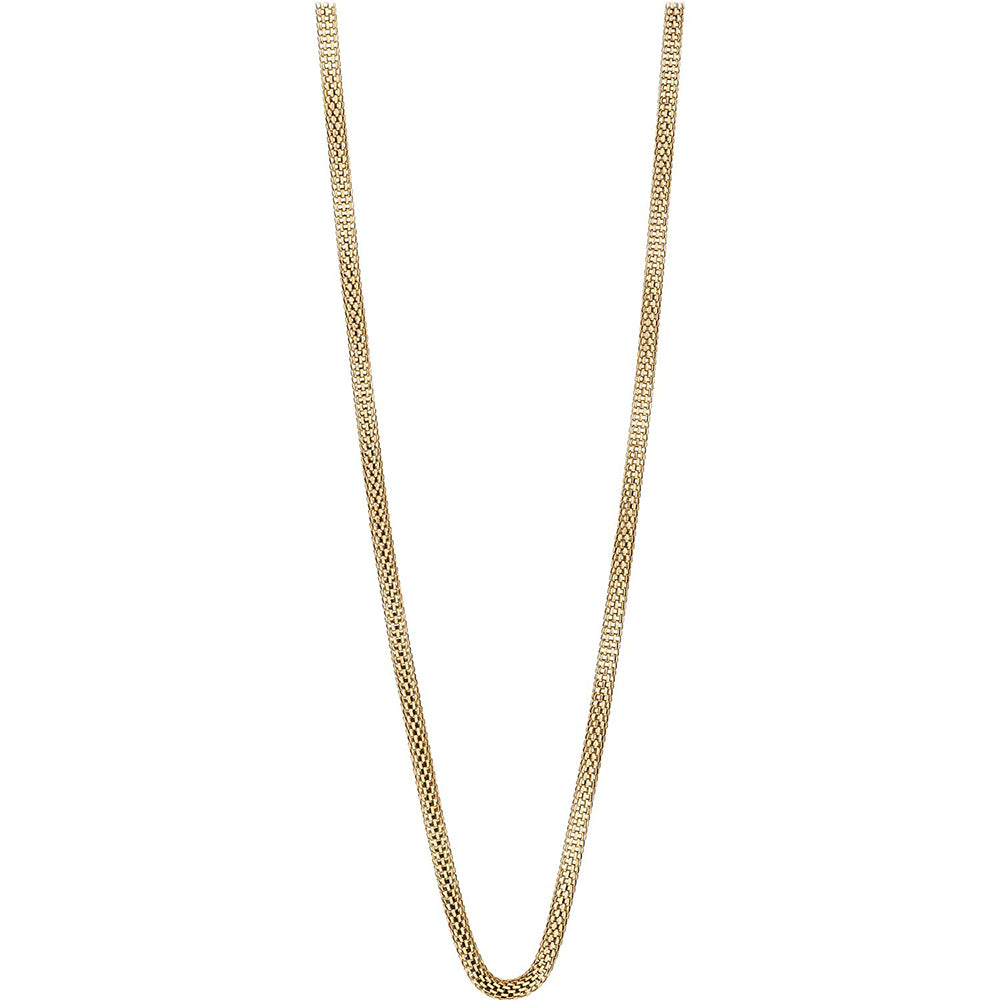 Bering Necklace Gold Stainless Steel