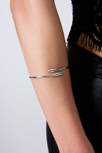 Cross Open Drop Bangle DBG4